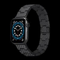 Pitaka Aramid Carbon Fiber Band Slim Fit Apple Watch 4 5 6 SE 38 40mm