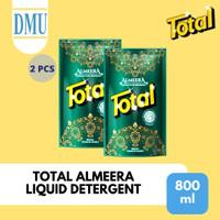 Sabun Detergent Cair Total Almeera Liquid 800 ml - 2 Pcs