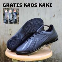 Sepatu Futsal Adidas X18 Full Black/Adidas X18 Full Black Import