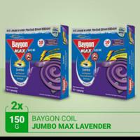 Baygon lavender coil /bakar 150gr/ obat nyamuk lavender murah (2 pcs)