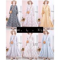 bella dress atelier angelina M L XL Gamis syar i home dress