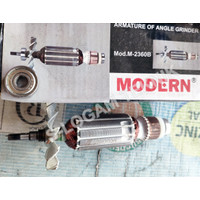 Angker / Armature Armatur Mesin Gerinda Grinda Grinder MODERN M 2360 B