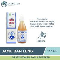 Jamu Ban Leng - Minyak Obat Herbal Batuk, Pilek, Masuk Angin dan Wasir