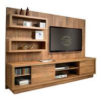 bufet tv minimalis partisi minimalis rak buku pembatas ruangan jati