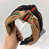 Bando Accessories Rambut Hairband Besar Korea - Random