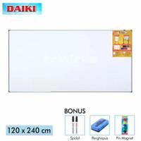 White Board Magnet Daiki - Papan Tulis Gantung - 120 X 240cm