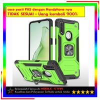 Case Asus Zenfone Max Pro M2 ZB631KL Robot RUGBOX Ring Stand Armor