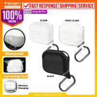 Case Airpods Pro SPIGEN Slim Armor IP Cover Silicone Softcase Casing