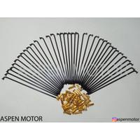 JARI JARI RUJI MOTOR MODEL TDR WARNA HITAM SEMUA MOTOR