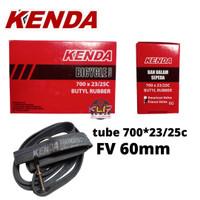 BAN DALAM 700 x 23 25c KENDA FV 6 cm ban dalam roadbike fixie 700