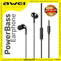 AWEI Power Bass In-Ear Stereo Earphone/Headset/Headphone/Handsfree PC6