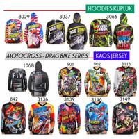Baju Balap Motor Cross Drag Bike Motocross DIJAMIN GANTENG