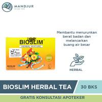 Bioslim Herbal Tea - Teh Pelangsing dan Penurun Berat Badan