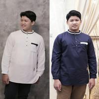Baju Atasan Muslim Kemeja Koko Panjang Anak Remaja Abg Tanggung