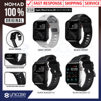 Strap Apple Watch 44mm / 42mm Nomad FKM Rugged Silicone Rubber Band