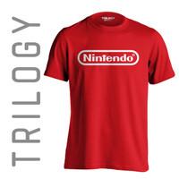 Kaos Brand Trilogy Game NINTENDO SWITCH Tshirt T-shirt - Merah, S
