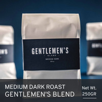 Gentlemen's Blend Espresso Arabica Biji Kopi Roasted Beans