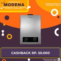 Water Heater Gas Modena GI 0632 V - Pemanas Air Gas LPG
