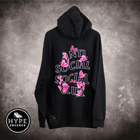 Anti Social Social Club ASSC Sugar High Black Hoodie 100% ORIGINAL - XL