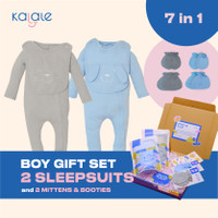 Hampers Newborn / Kado Lahiran Bayi - Kalale - Boy - Sleepsuit - 0-3 Bulan
