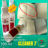 Pembersih jok mobil bahan kain fabric bludru spray cleaner 7 100 ml