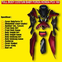 BODYKIT BABY FORZA T2 PCX 160-BODY CUSTOM BABY FORZA T2 PCX 2021