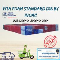 KASUR BUSA INOAC D16 120 × 200 × 20 GARANSI 10THN ORIGINAL TERMURAH