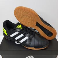 Sepatu Futsal Adidas Top Sala IN Black White Volt