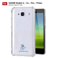 Softcase Anticrack Xiaomi Redmi 2 / 2s / Prime Casing Antishock Clear