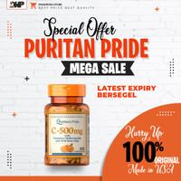 Puritan Pride Vitamin C-500 mg with Bioflavonoids & Rose Hip - 100 CAP