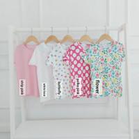 6-10 Thn- Livia Tee Junior- Baju Kaos Atasan Anak Perempuan
