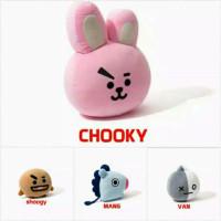 Bantal Boneka BT21 BTS Shooky Tata Van Koya Chimmy RJ Cooky Mang