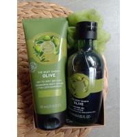 Paket Bundling Olive Body Lotion & shower Gel The Body Shop