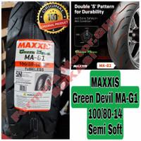 100/80-14 Maxxis Green Devil MA-G1 - Ban Motor Ring 14 Tubeless