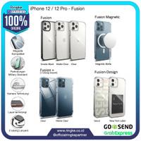 Ringke iPhone 12 / 12 Pro Fusion Softcase Slim Armor Anti Crack Hybrid
