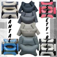 Bantal Mobil Safety Belt Set