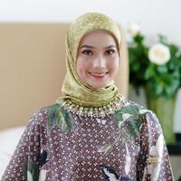 Hijab - SASKARA - Lovely Lace Willow Satin