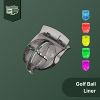 Golf Ball Liner - Alat Penanda Garis Bola Marker Template Putting