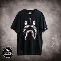 Kaos Bape Shark City Camo Black 100% ORIGINAL - S
