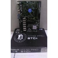 ASROCK H110 PRO BTC 13 Slot + Processor