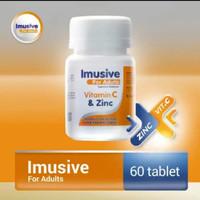 Imusive Vitamin For Adult Vitamin C dan Zinc