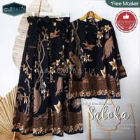stelan rok batik wanita   stelan blouse   fashion wanita   rok mayung