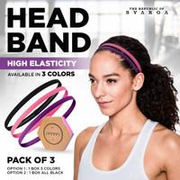 Svarga Headband Sport / Headband Olahraga - 3 COLOR
