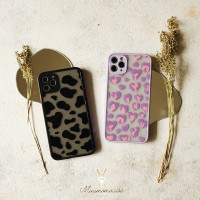 ANIMAL PRINT 3D CASE SOFTCASE FULLCOVER ALL IPHONE 6 - 11PROMAX CASING - COW BLACK, IPHONE 11PROMAX