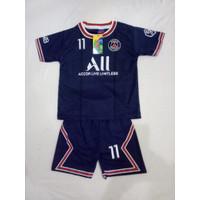 Baju Bola Anak PSG Navy Terbaru 2021/2022 / Setelan Bola Anak