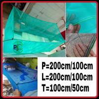 jaring keramba ikan bahan waring/kasa berkualitas dan murah