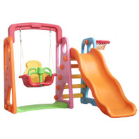 PO : Colorful swing and slide paso perosotan ayunan