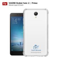 Softcase Anticrack Xiaomi Redmi Note 2 Casing Antishock Clear TPU