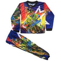 Baju motocross anak lengan panjang/Baju trail anak lengan panjang