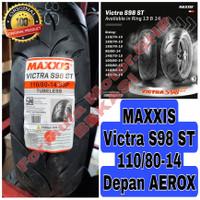 Maxxis Victra 110/80-14 Tubeless / Ban Matic Tapak Lebar